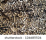 leopard skin background | Shutterstock . vector #126685526