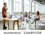 lecturer reports to the...   Shutterstock . vector #1266891538