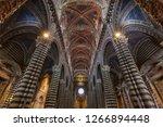 siena   italy   july 2015 ... | Shutterstock . vector #1266894448