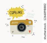 cartoon style vector... | Shutterstock .eps vector #1266898882