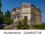 medieval fortifications of... | Shutterstock . vector #1266902728