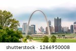 St. Louis Skyline Featuring Th...