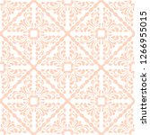talavera pattern.  indian... | Shutterstock .eps vector #1266955015