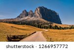 italy  dolomite mountains  ... | Shutterstock . vector #1266957772