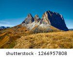 italy  dolomite mountains  ... | Shutterstock . vector #1266957808