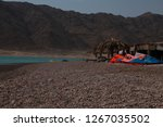 day trip in dahab  egypt | Shutterstock . vector #1267035502