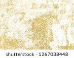 gold splashes texture. brush...   Shutterstock . vector #1267038448
