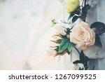 flower in wedding event   Shutterstock . vector #1267099525