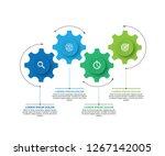 vector illustration of business ... | Shutterstock .eps vector #1267142005
