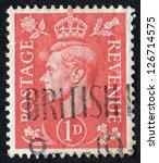 united kingdom   circa 1941 ...   Shutterstock . vector #126714575