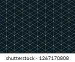 abstract geometric pattern with ... | Shutterstock .eps vector #1267170808