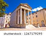 Forum Square And Historic Roma...