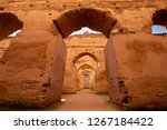 The Ancient Ruined Arches Of...
