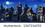 Small Fairy Tale Town Night....