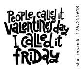 people called it valentine s... | Shutterstock .eps vector #1267255648