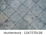 stone pattern on tile floor... | Shutterstock . vector #1267270138