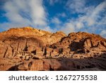ancient city of petra  jordan | Shutterstock . vector #1267275538