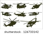 The Set Of Military Transport...