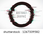 circular abstract graphics ... | Shutterstock .eps vector #1267339582
