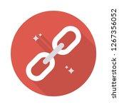 url  link  chain  | Shutterstock .eps vector #1267356052