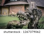 traditional hindu statue of... | Shutterstock . vector #1267379062