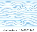 blue stripes.overlay blue lines....   Shutterstock . vector #1267381462