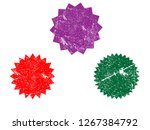 grunge colorful stamps.grunge...   Shutterstock . vector #1267384792