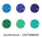 colorful badges.colorful stamps....   Shutterstock . vector #1267388848