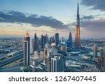 scenic view on downtown dubai ... | Shutterstock . vector #1267407445