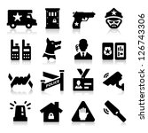 security icons   Shutterstock .eps vector #126743306