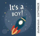 """rocket  and the words """"it's a... 