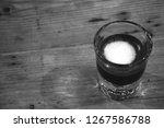 strong macchiato coffee in...   Shutterstock . vector #1267586788