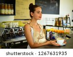 the coffee that inspires.... | Shutterstock . vector #1267631935