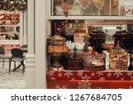 moscow  russia. december 2018 ... | Shutterstock . vector #1267684705
