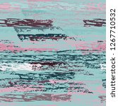 grunge stripes line. chalk...   Shutterstock .eps vector #1267710532