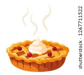 sweet pie design | Shutterstock .eps vector #1267711522