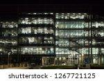 front facade of modern office... | Shutterstock . vector #1267721125