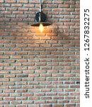 wall   light   not perfect line | Shutterstock . vector #1267832275