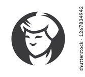 sumo men silhouette sign | Shutterstock .eps vector #1267834942