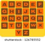 alphabet   Shutterstock . vector #126785552