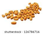 Heap Of Almond Nuts