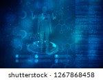 2d illustration human male...   Shutterstock . vector #1267868458