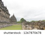 candi plaosan is a temple... | Shutterstock . vector #1267870678