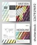 business templates for bi fold...   Shutterstock .eps vector #1267919692