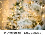 close up of a christmas tree... | Shutterstock . vector #1267920388