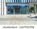 modern office building outdoors ... | Shutterstock . vector #1267921558