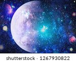 nebula and open cluster of... | Shutterstock . vector #1267930822
