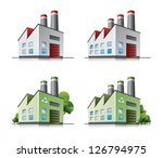 perspective view on four... | Shutterstock .eps vector #126794975