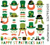 st. patrick s day vector party... | Shutterstock .eps vector #1267951435