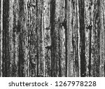 distressed overlay wooden... | Shutterstock .eps vector #1267978228